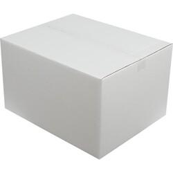 50x40x30cm Çift Oluklu Beyaz Koli - Thumbnail