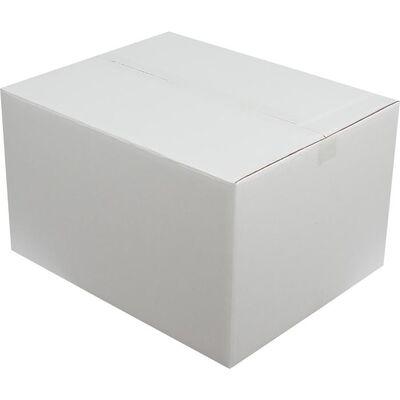 50x40x30cm Çift Oluklu Beyaz Koli