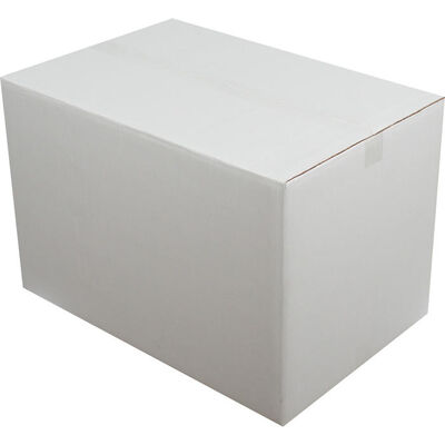 60x40x40cm Çift oluklu Koli - Beyaz