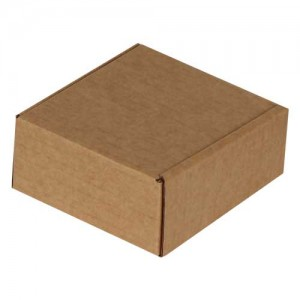 6x6x4cm Kutu - Kraft - Thumbnail