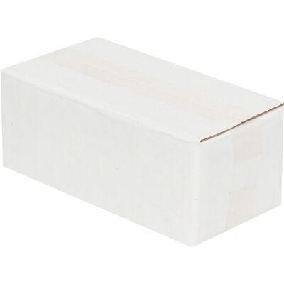 8,5x3,5x3cm Tek Oluklu Beyaz Koli