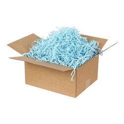 Zikzak Kağıt Dolgu Malzemesi- Mavi [250Gr] - Thumbnail