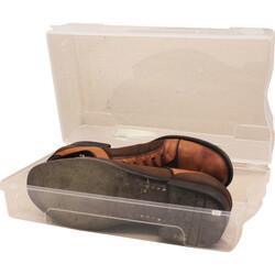 Şeffaf Ayakkabı Kutusu [Erkek - 5'li] - Thumbnail